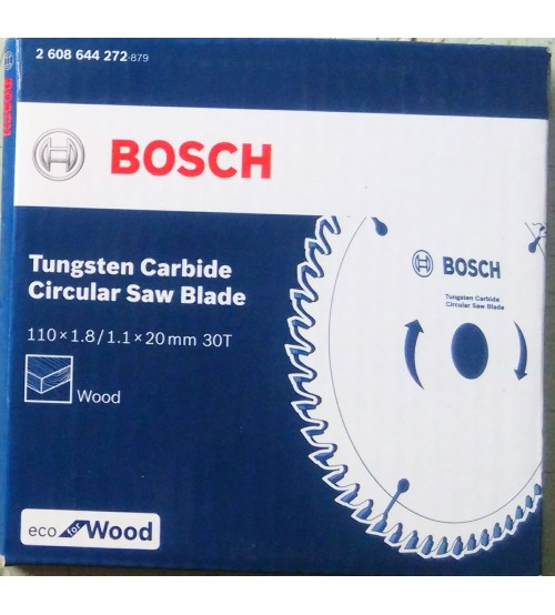 """Bosch 4"""" - 110mm TCT Blade for Wood - Pack of 05 Nos"""