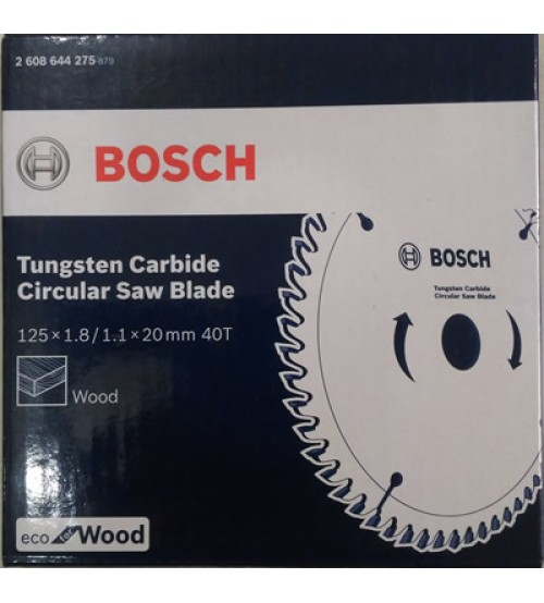 "Bosch 5"" - 125mm TCT Blade for Wood - 05 Nos"