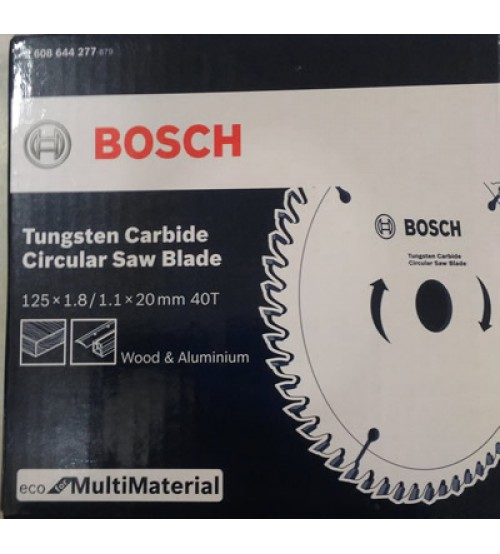 "Bosch 5"" - 125mm TCT Blade for Wood & Aluminium - 05 Nos"