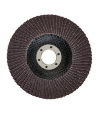 "Bosch 4"" X 120 Grit Flap Discs Standard for Metal (Pack of 10 Pcs)"